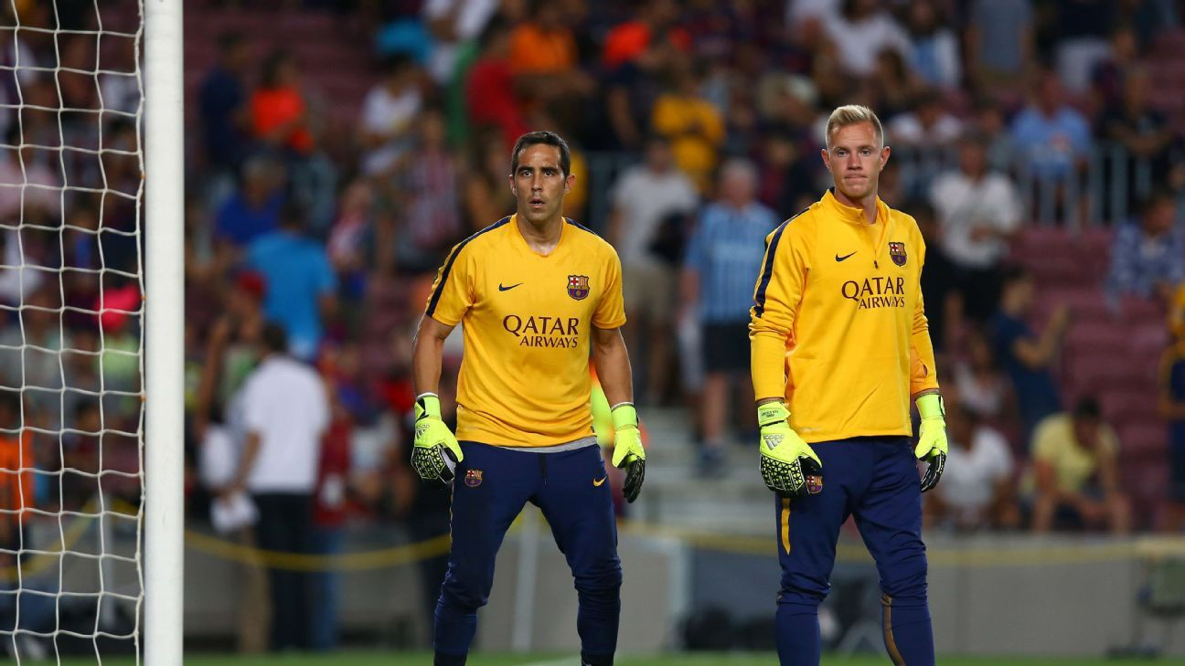 6f7525595d6 Comparing Ter Stegen and Bravo - Barcelona and Man City s No. 1s