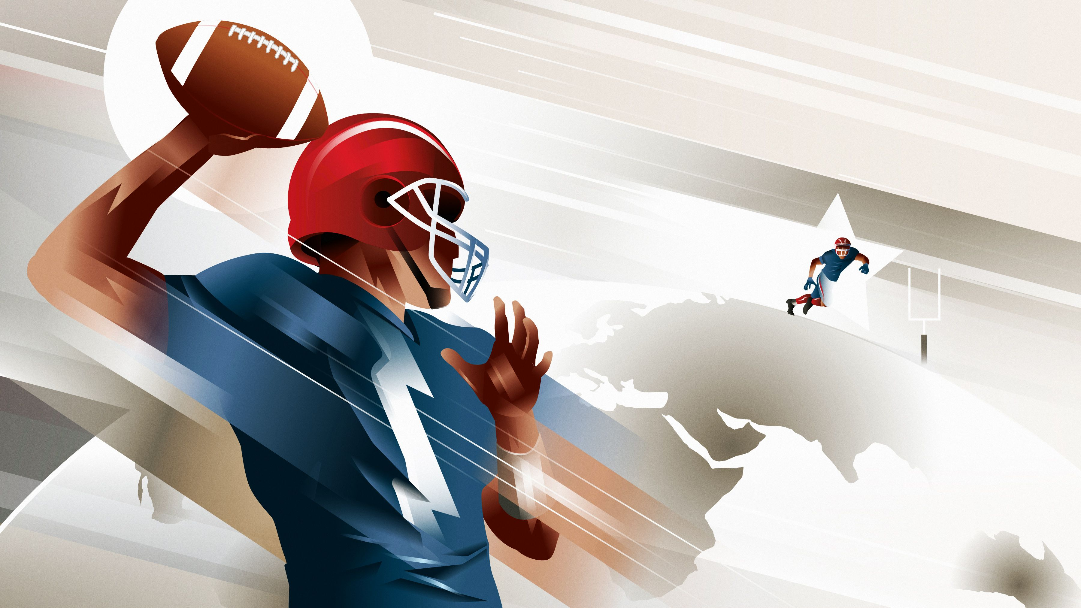 How American football is becoming a worldwide sport, from Europe to