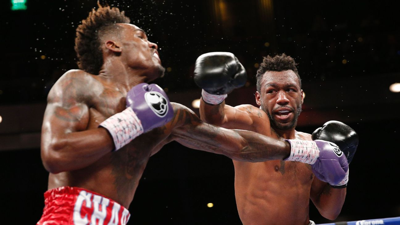 Twin brothers Jermall and Jermell Charlo win, make history