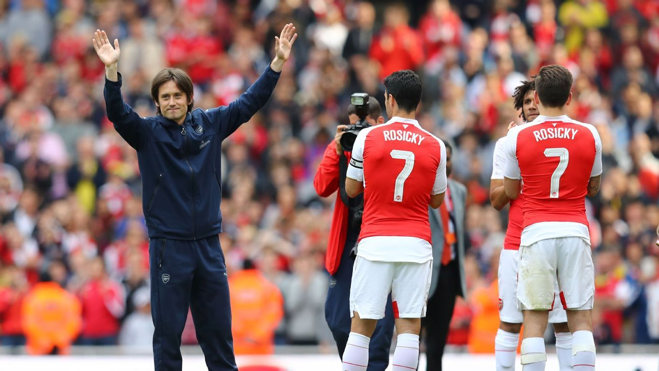 new style a2b59 5b103 Arsenal will miss Tomas Rosicky after a decade of loyal ...