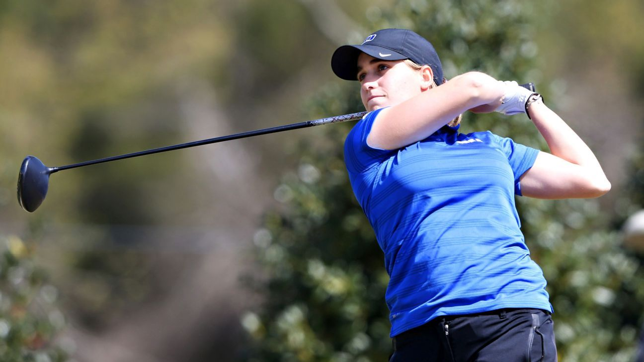 Virginia Elena Carta Of Duke Blue Devils Wins Ncaa Women S