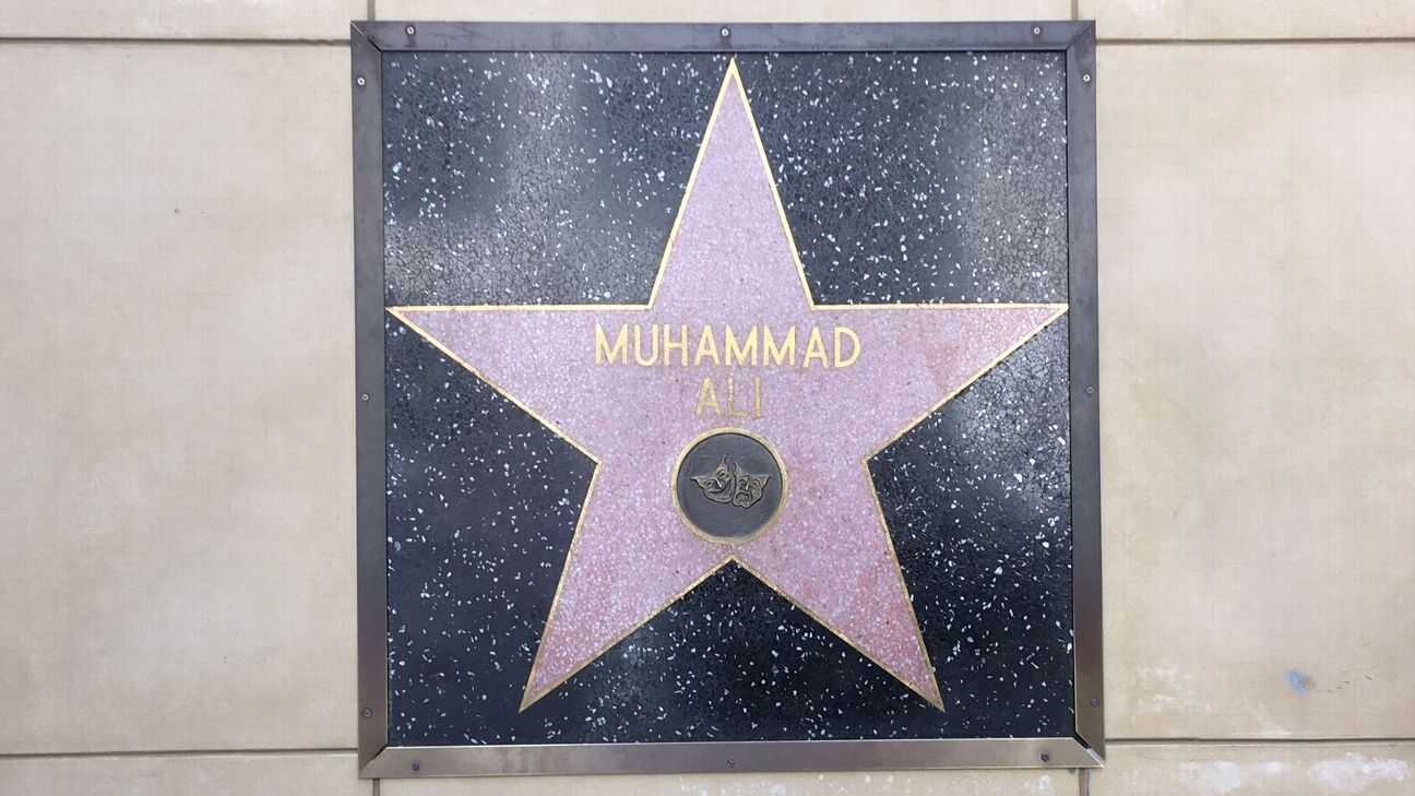 sale retailer 0c7a7 21d20 Why Ali s star shines brightest on the Hollywood Walk of Fame