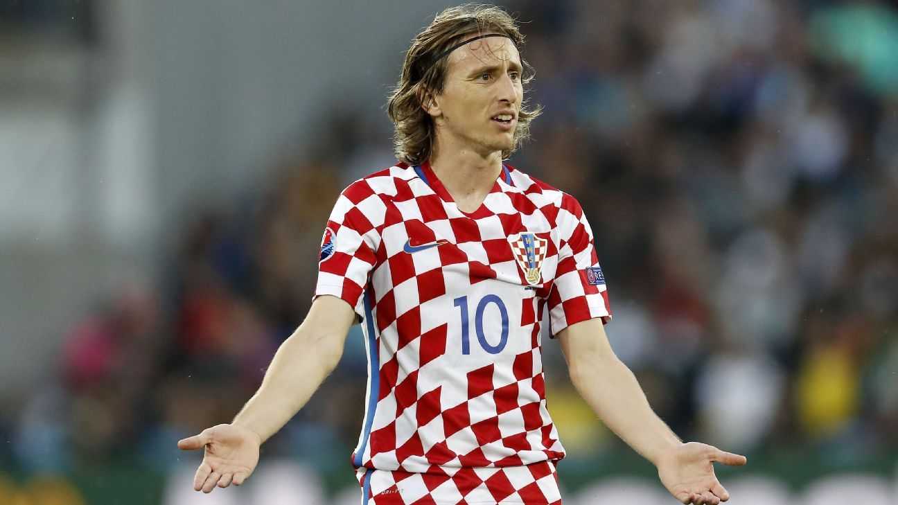 wholesale dealer ba962 c0af5 Luka Modric questioned by Croatia state attorney over ...
