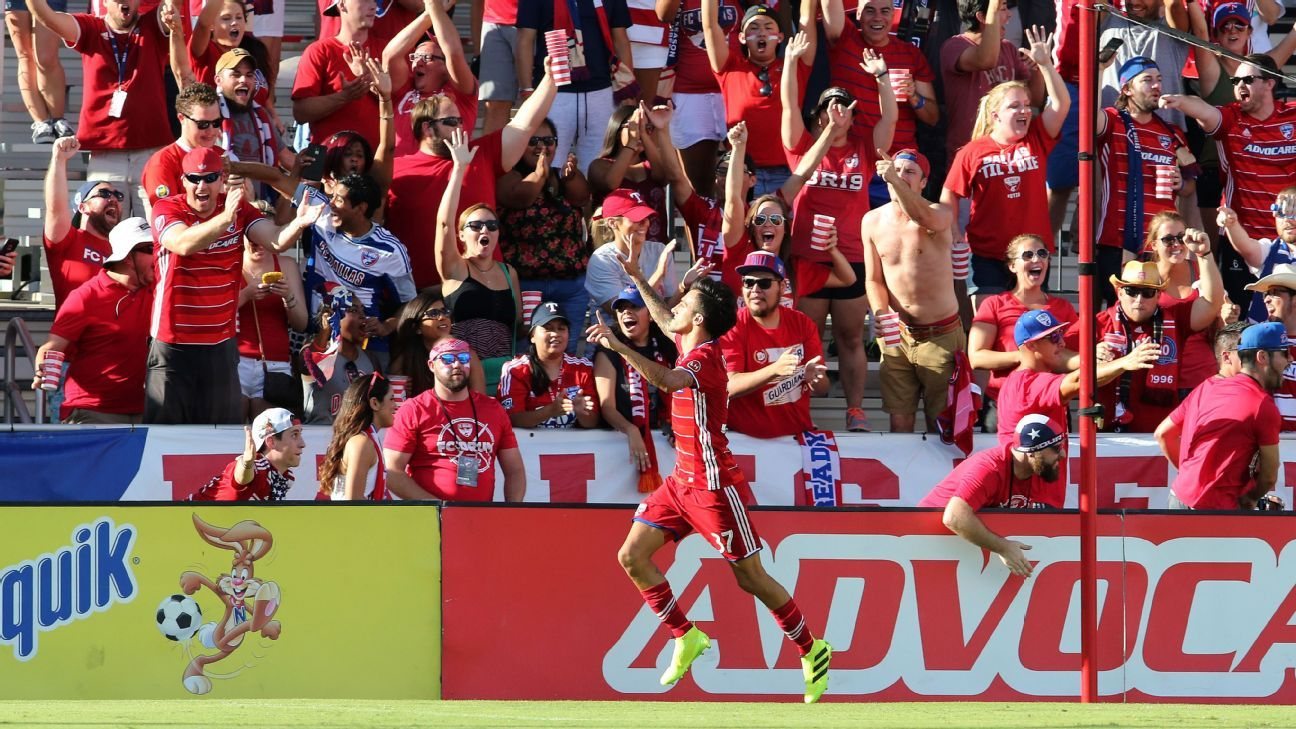 FC Dallas soar to top of MLS Power Rankings, New York Red Bulls No  2
