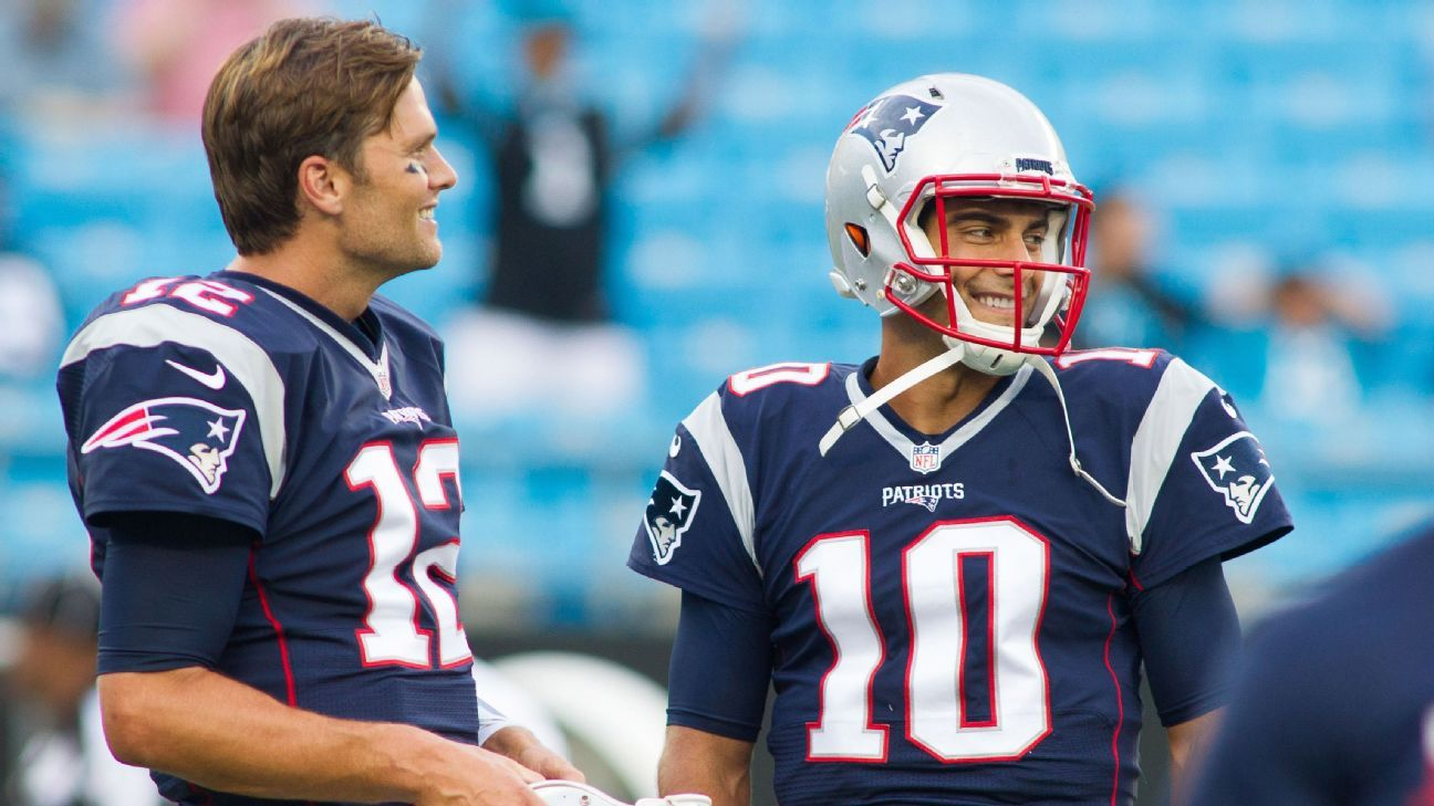 New England Patriots QB Jimmy Garoppolo reflects on time as starter - New  England Patriots Blog- ESPN dce25e48b