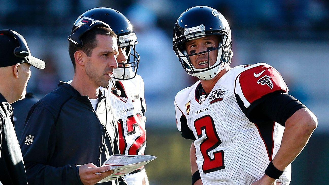 Falcons' Kyle Shanahan, former Denver ball boy, rides high into Denver -  NFC South- ESPN