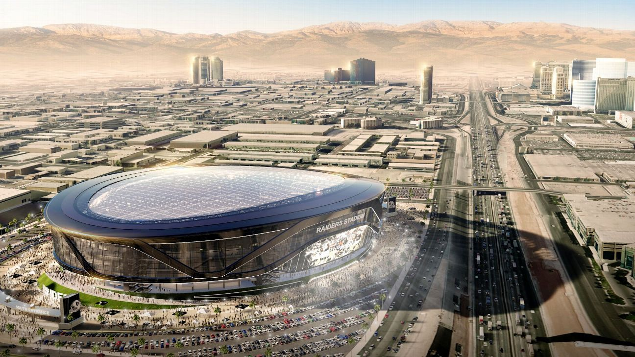 Where will the Raiders play in 2019 161c43f78