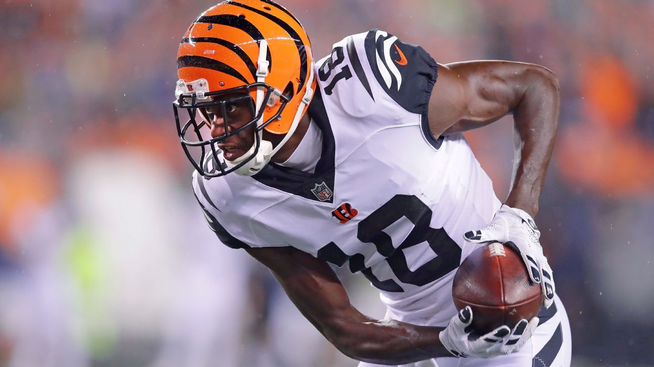best website d4ee0 a129c Chad Johnson: A.J. Green 'greatest Bengals receiver of all ...