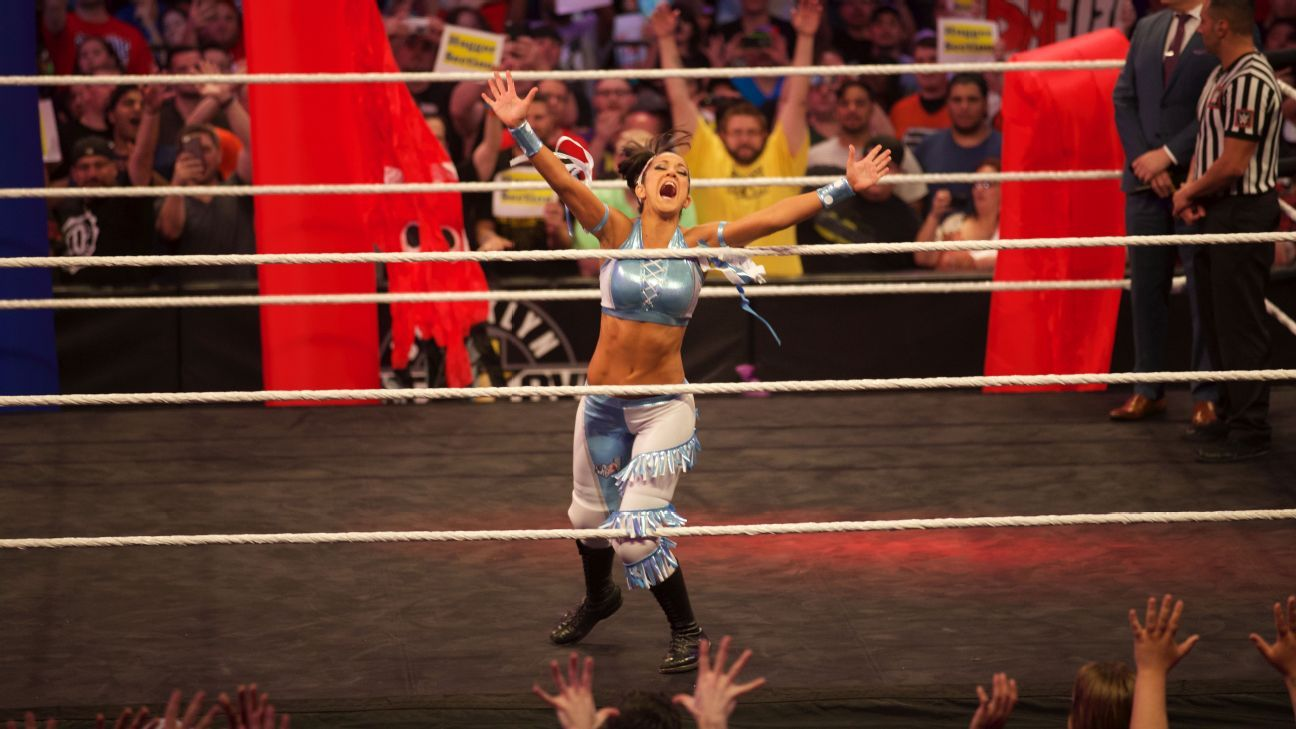 Bayley Is A Lifelong Wwe Fan And That Helps Fuel Her