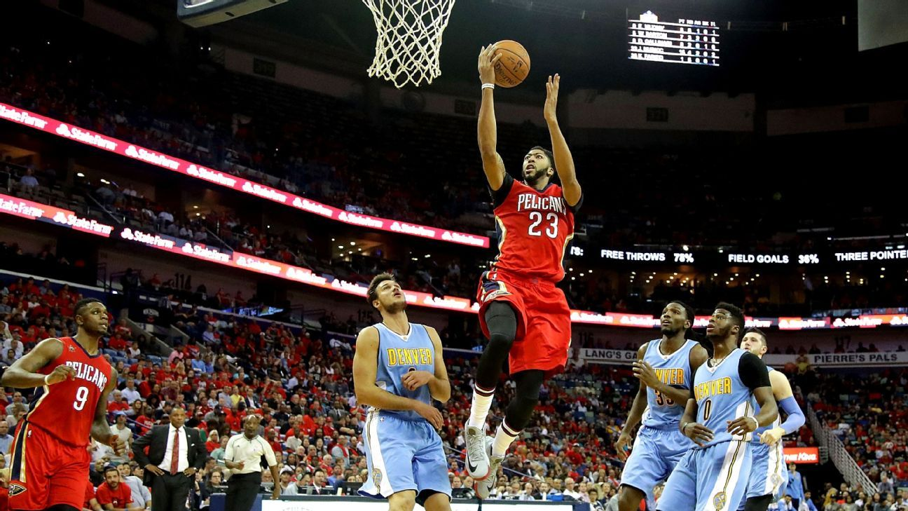 Anthony Davis has 50-point game for New Orleans Pelicans ...