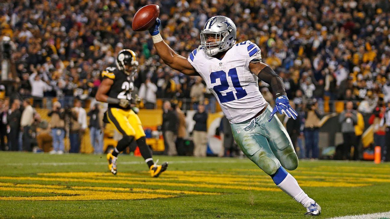 9c4b9172bbd Ezekiel Elliott of Dallas Cowboys is NFL MVP so far - 2016