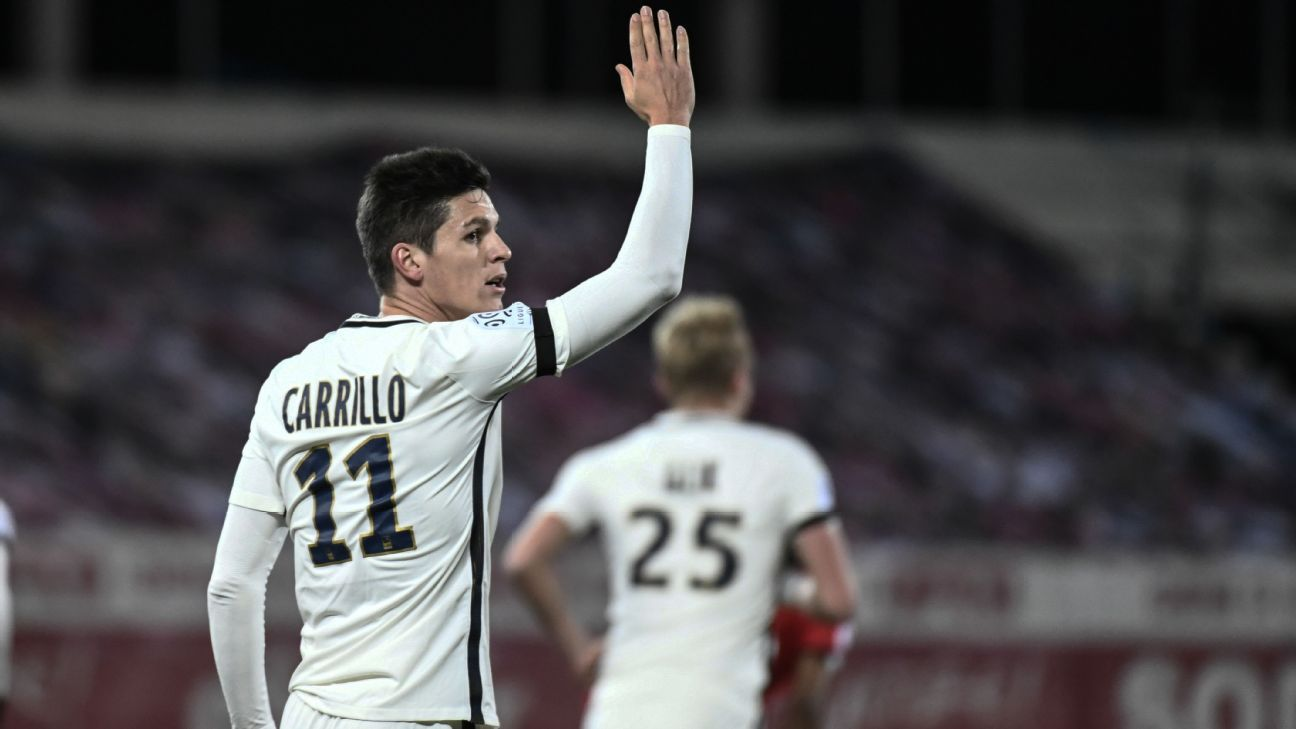 Monaco striker Guido Carrillo to miss another 5-6 weeks ...