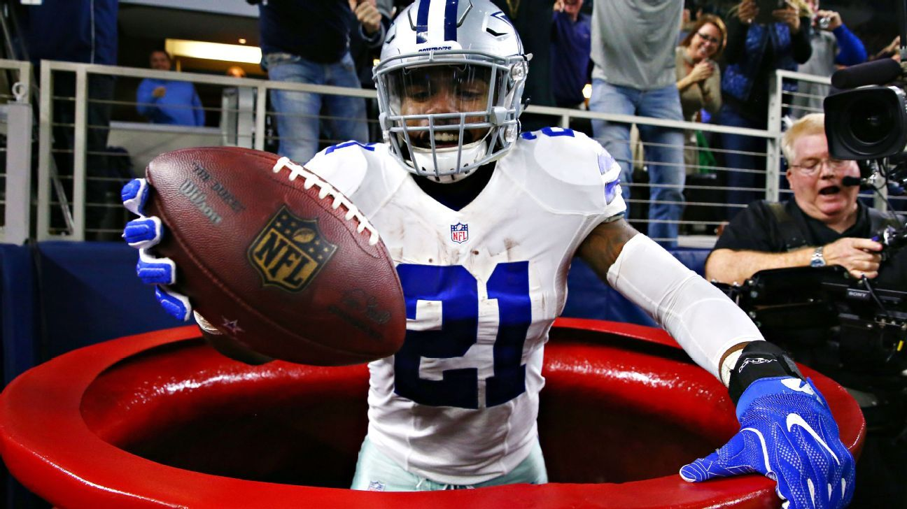 af2863ed88a Salvation Army sees spike in donations after Dallas Cowboys running back  Ezekiel Elliott jumps into red kettle