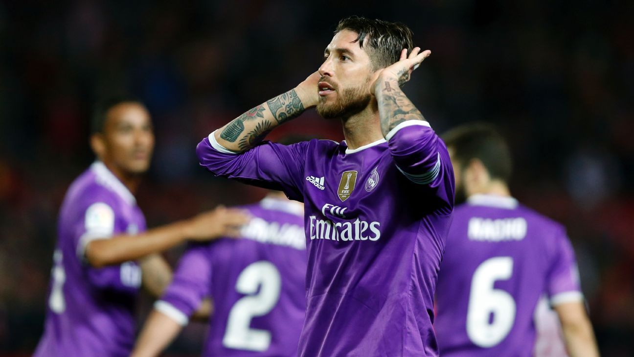 Sevilla fans abuse of Real Madrid captain Sergio Ramos condemned ... 8b0412730