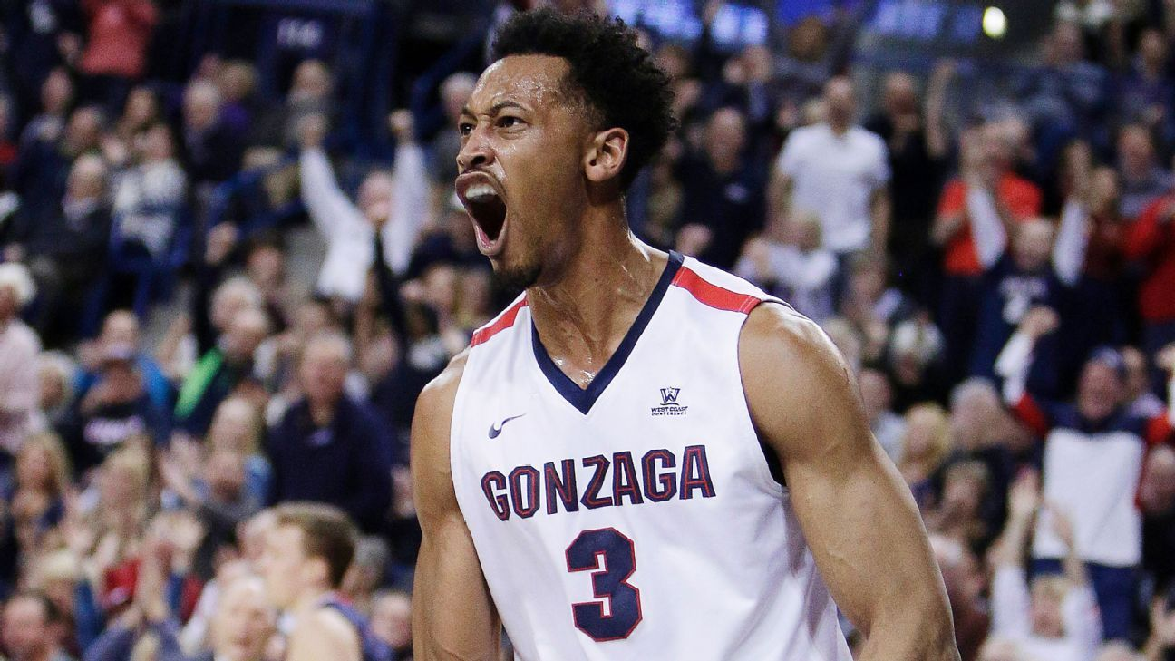 Gonzaga Bulldogs move to No. 1 for second time in school history