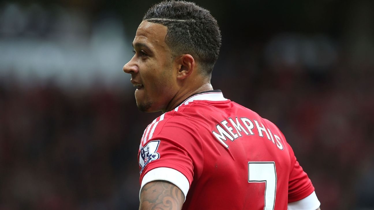 b3b5fde89 Man United s No. 7 shirt declines further after Memphis Depay exit