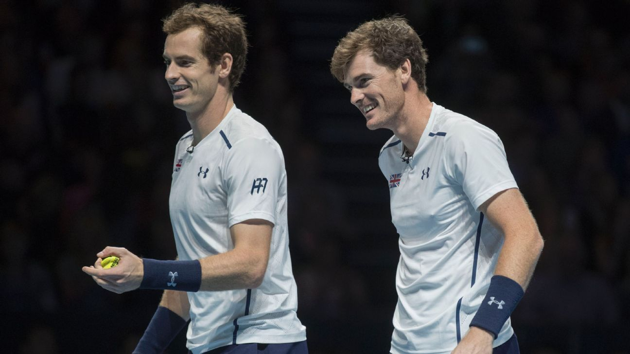 Jamie Murray rules out Wimbledon doubles act with brother Andy