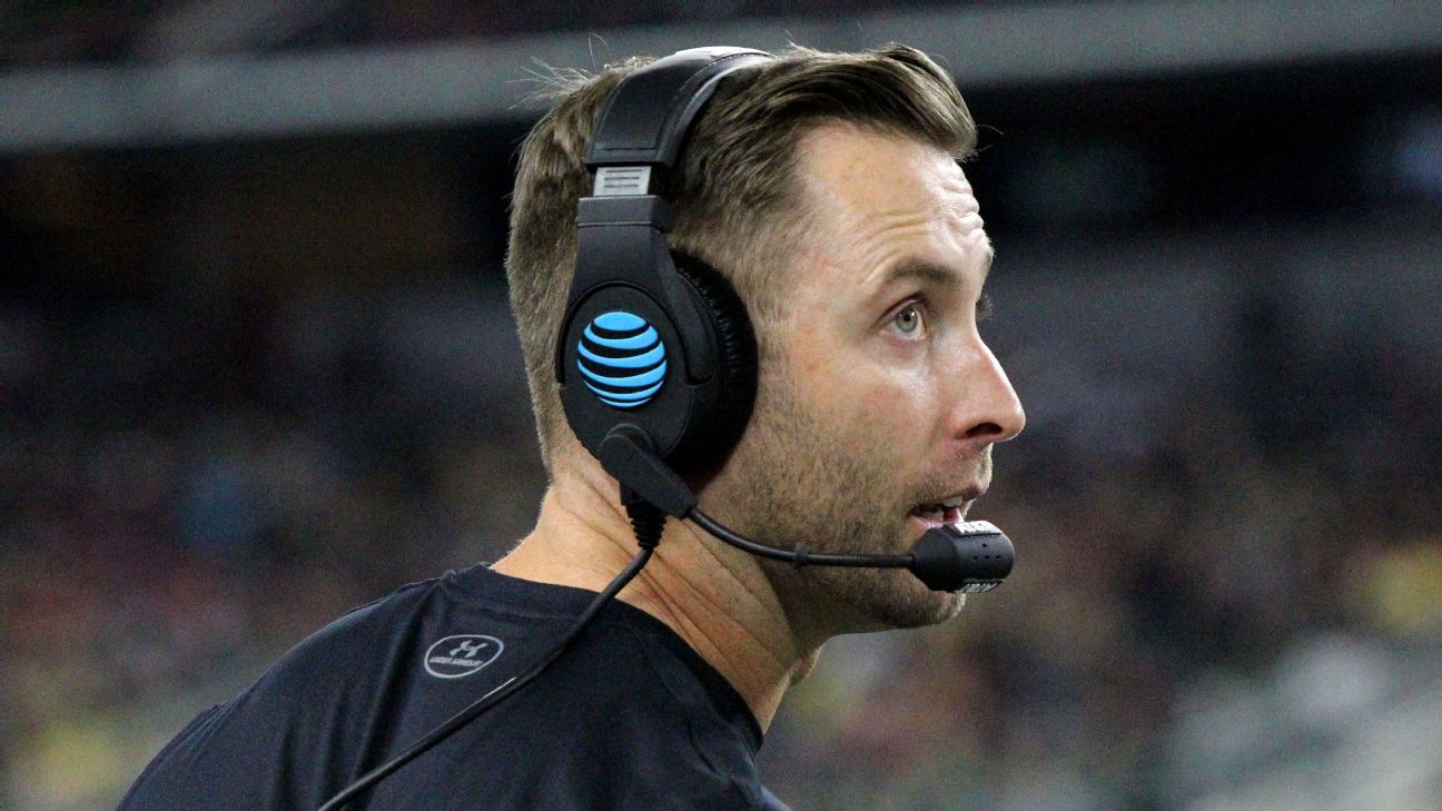 The NFL's new enforcement of an old rule has led to the situation where the Jets and Cardinals can't talk to Kliff Kingsbury as a head-coaching candidate, sources told ESPN.