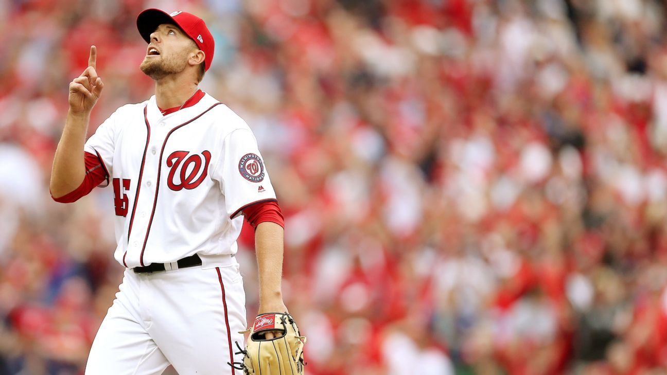 Nats closer Blake Treinen out to prove that nice guys finish