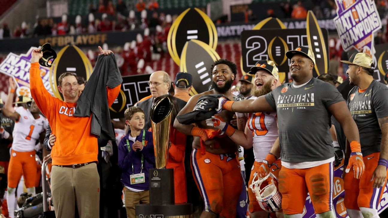 2017 18 College Football Playoff And Bowl Schedule