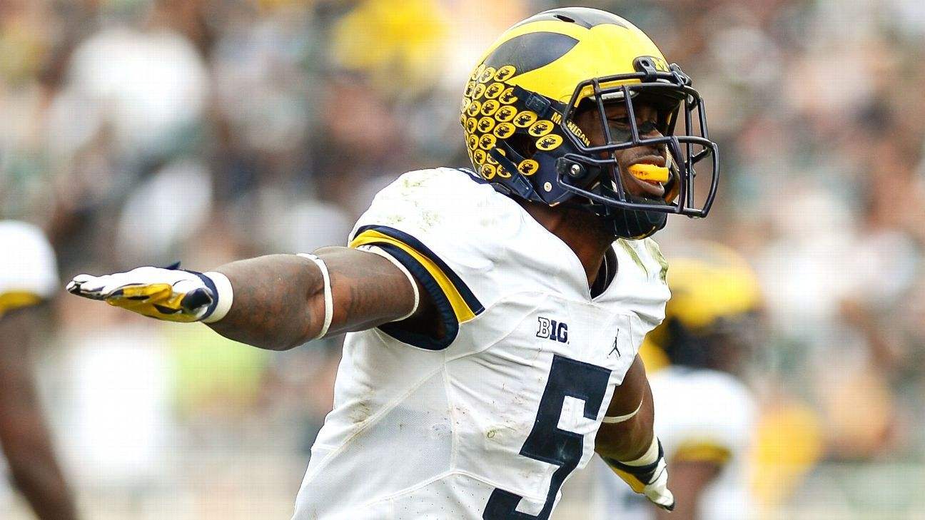 dd24ee59770 Jabrill Peppers of Michigan Wolverines leaving for NFL draft