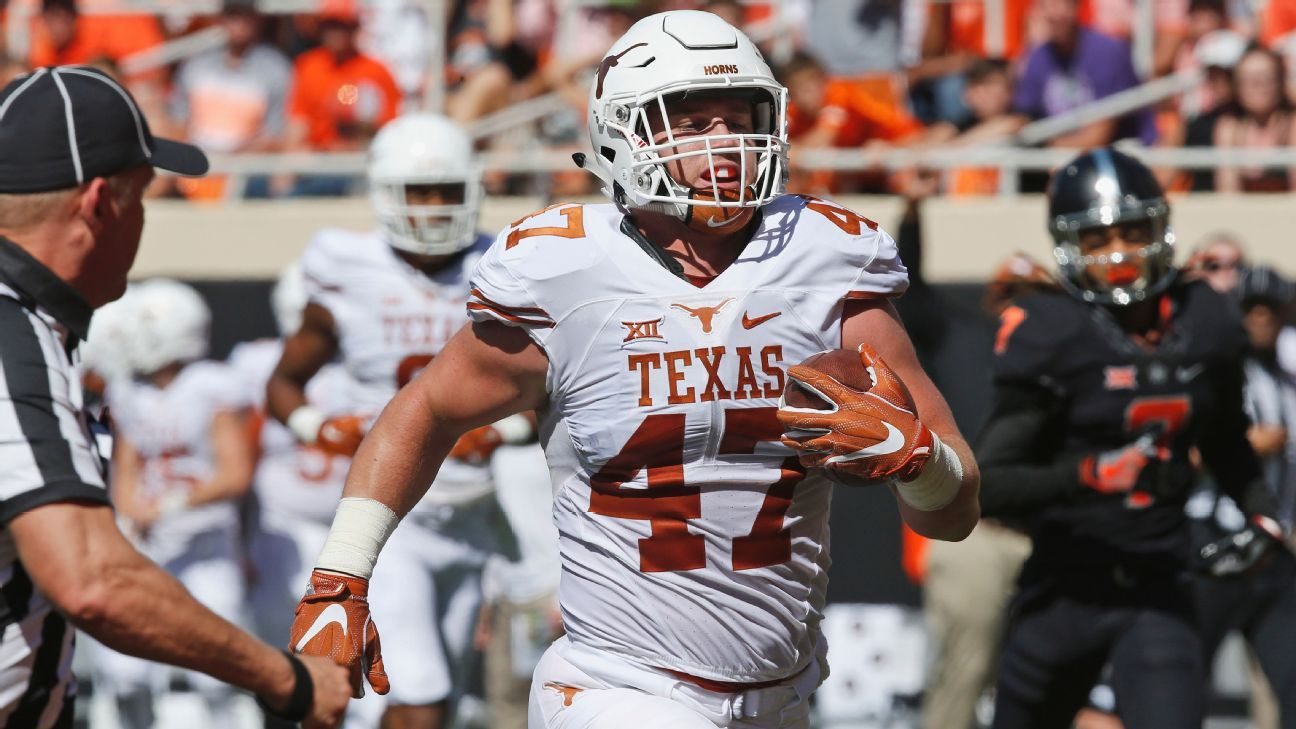 On The Spot Texas Longhorns Tight End Andrew Beck Big