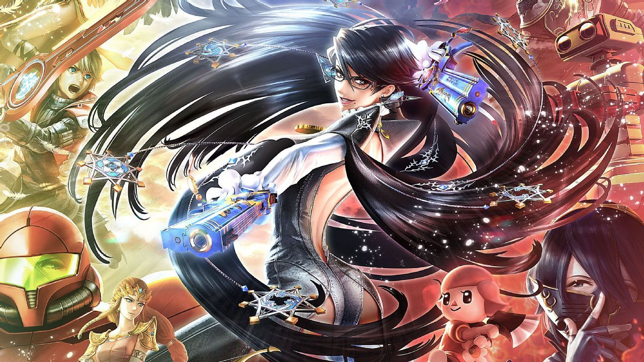 Smash 4 has a problem -- and it's Bayonetta