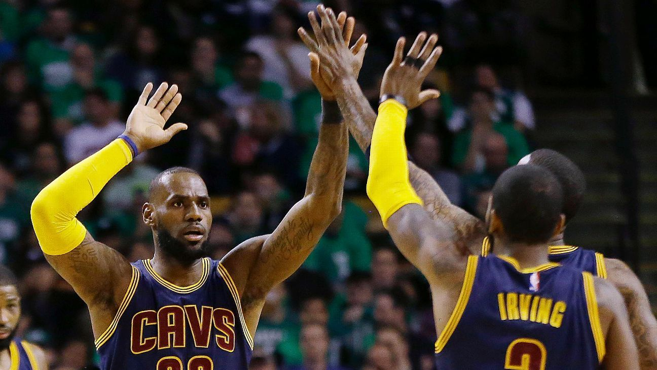 LeBron James defers on Warriors thoughts: 'It's too stressful'