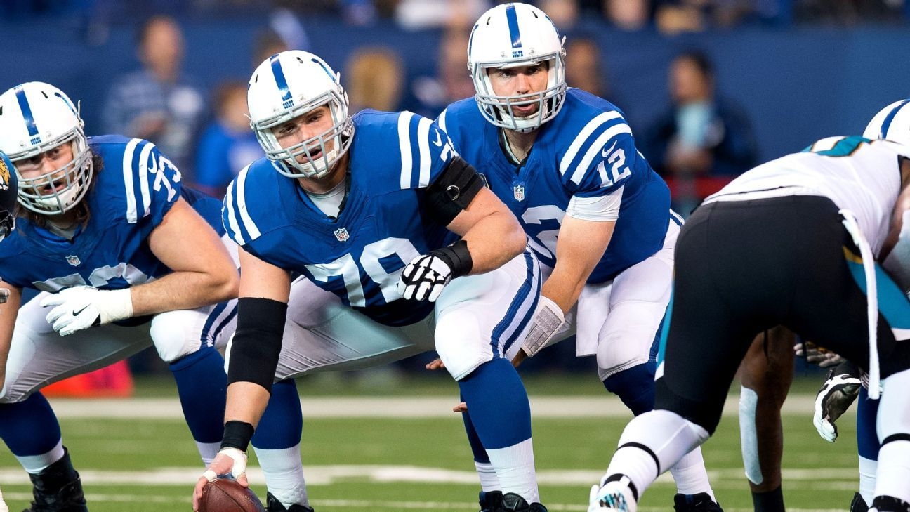 Indianapolis Colts Depth Chart Andrew Luck Has Better O Line Blog Espn