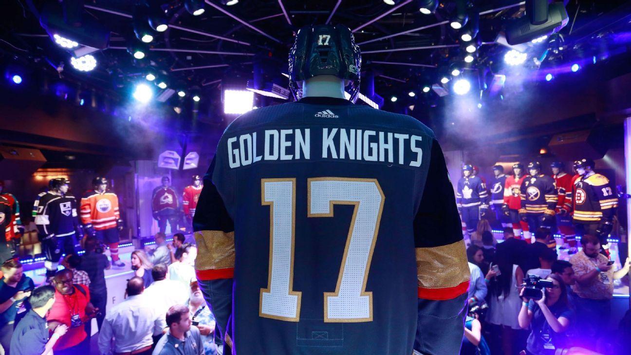 de133e658 NHL unveils new uniforms, including for Vegas Golden Knights