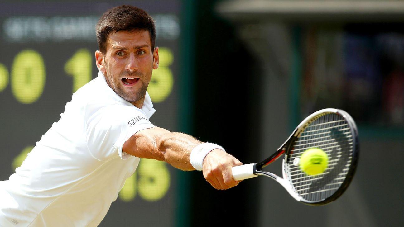 Wimbledon men's results Thursday