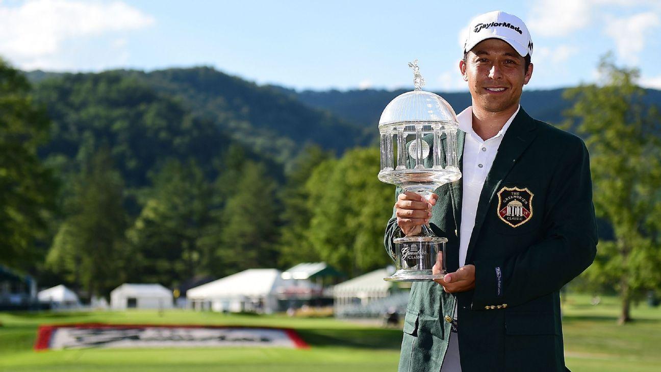 Xander Schauffele Birdies Final Hole To Win Greenbrier Classic