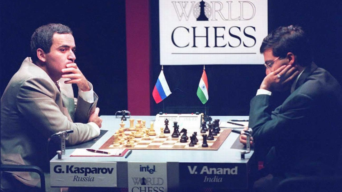 533f85f273b8 Garry Kasparov holds Viswanathan Anand to a draw in comeback