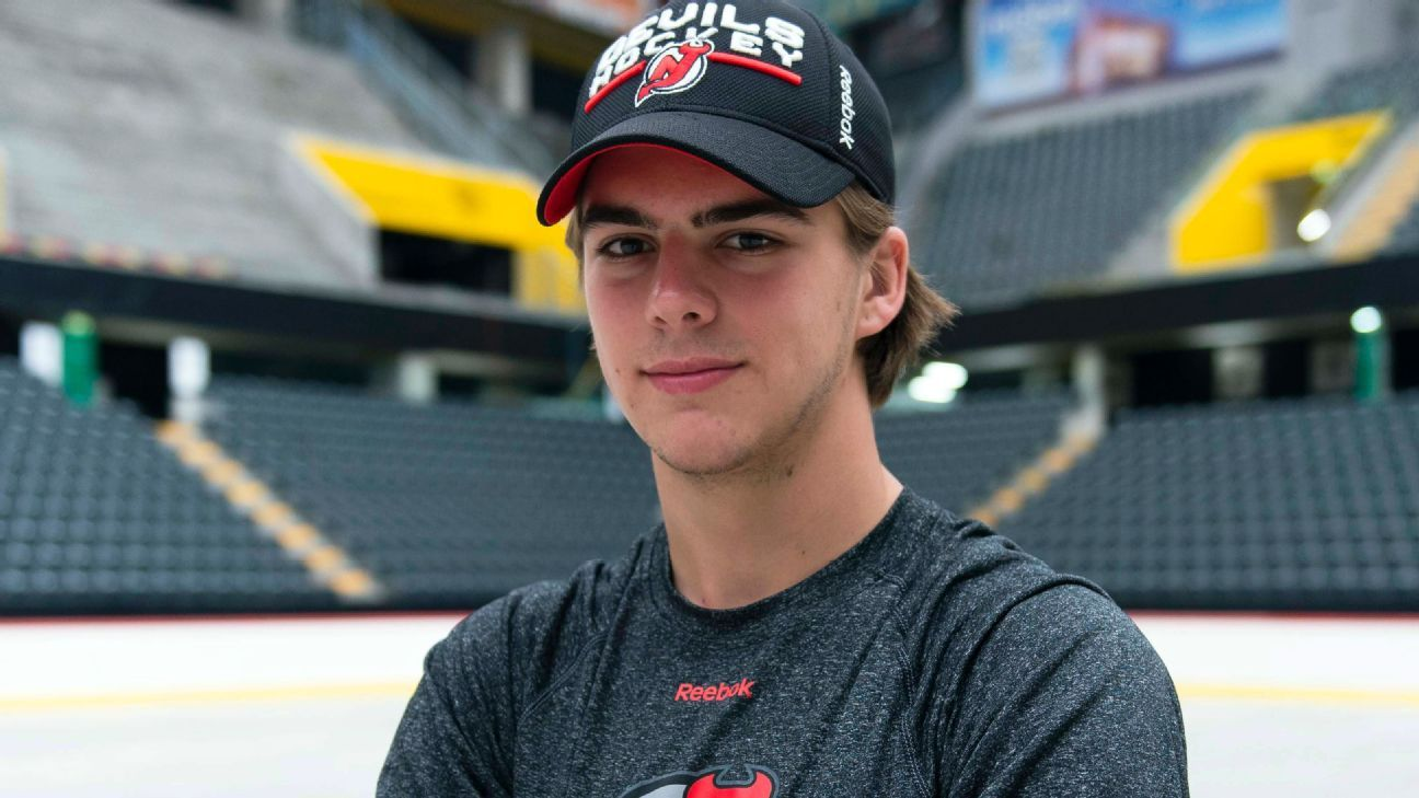 fd516832a NHL - New Jersey Devils rookie Nico Hischier wants to be the next Pavel  Datsyuk