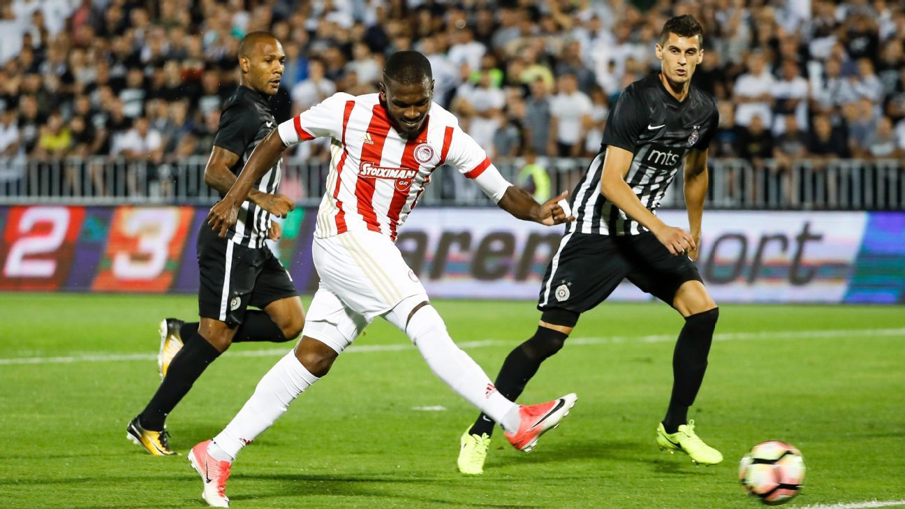 Olympiakos Open Champions League Campaign With Win As Aek Fall border=