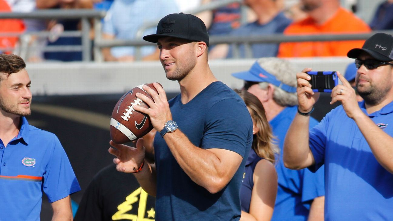 Tim Tebow shared words of wisdom with Kyler Murray before NFL decision