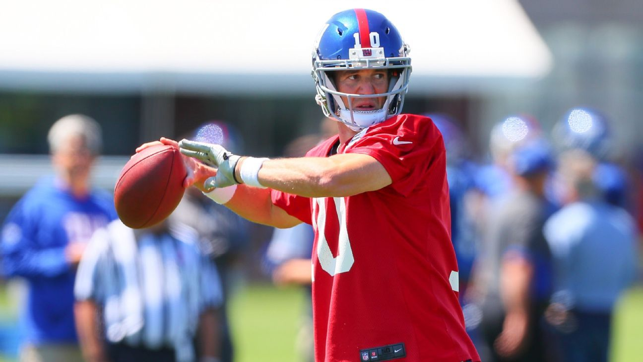 Eli Manning, 38, is expecting the Giants to draft his successor. Kyler Murray, Drew Lock and Dwayne Haskins are among the QBs to visit the Giants, who have the Nos. 6 and No. 17 picks