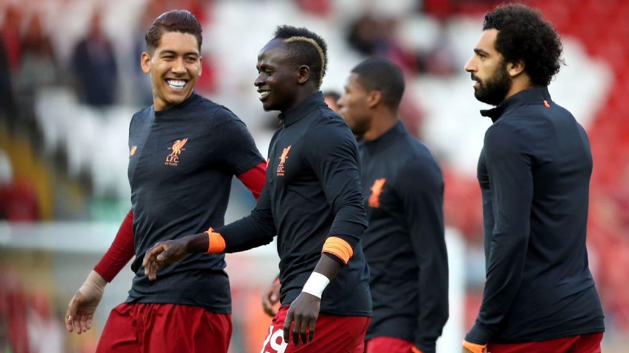 Sadio Mane Roberto Firmino Mohamed Salah Impressing