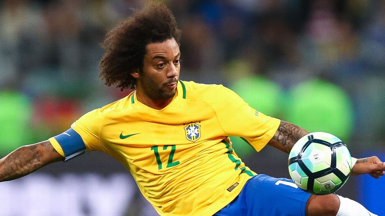 Marcelo Brazil is coming back to highest level at 2018 World Cup