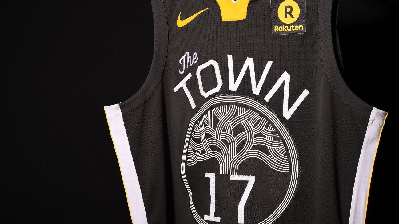 new product 8ef74 0cc0c Check out Golden State Warriors' new alternate uniforms
