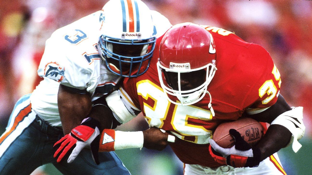 Why the impact of powerful running back Christian Okoye, the