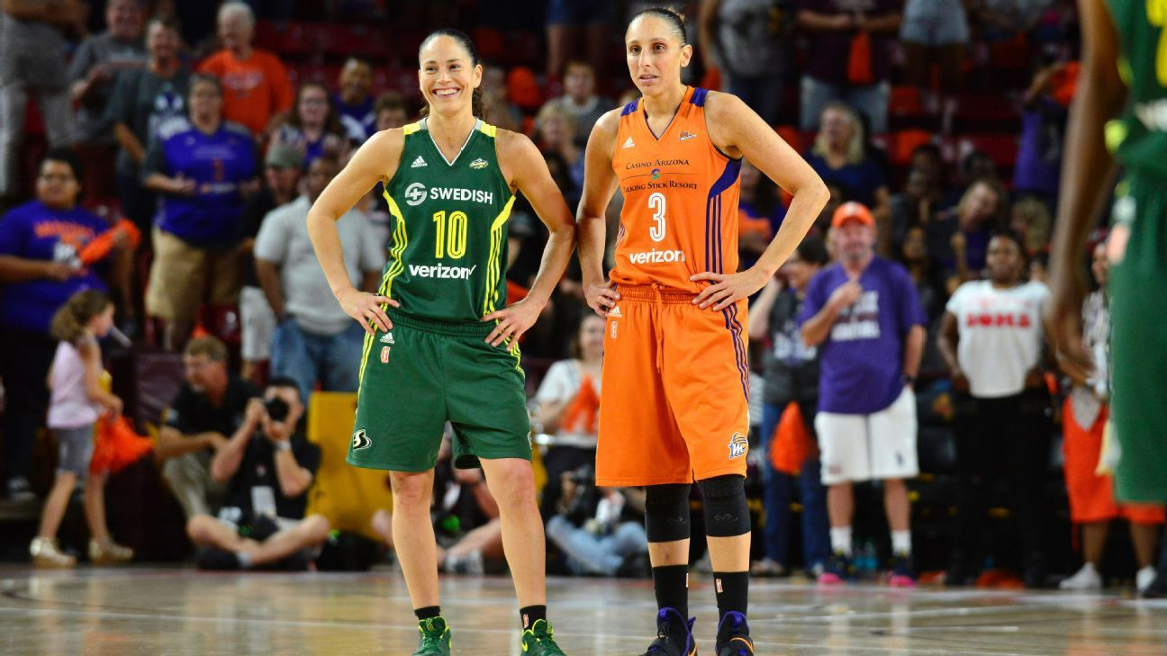 WNBA unveils list of top 25 players in its history thumbnail