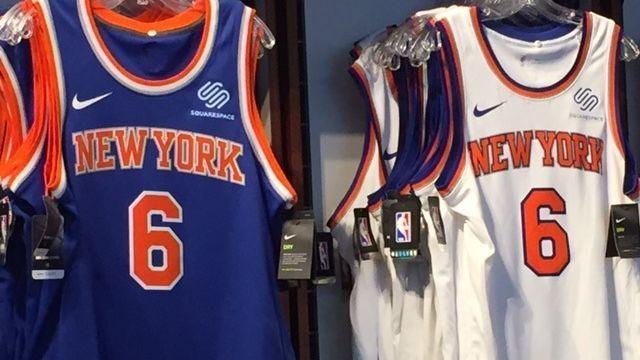 New York Knicks latest team to wear ad on uniform db923b5a2