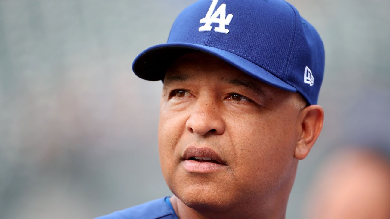 los angeles dodgers manager dave roberts      pitching decisions  game