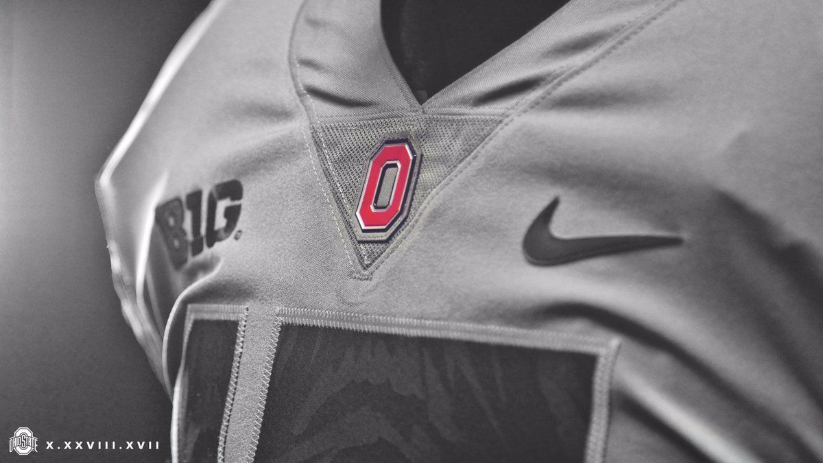 b1b4b05881b Football Fashion Ohio State Texas A M monochromatic uniforms Week 9