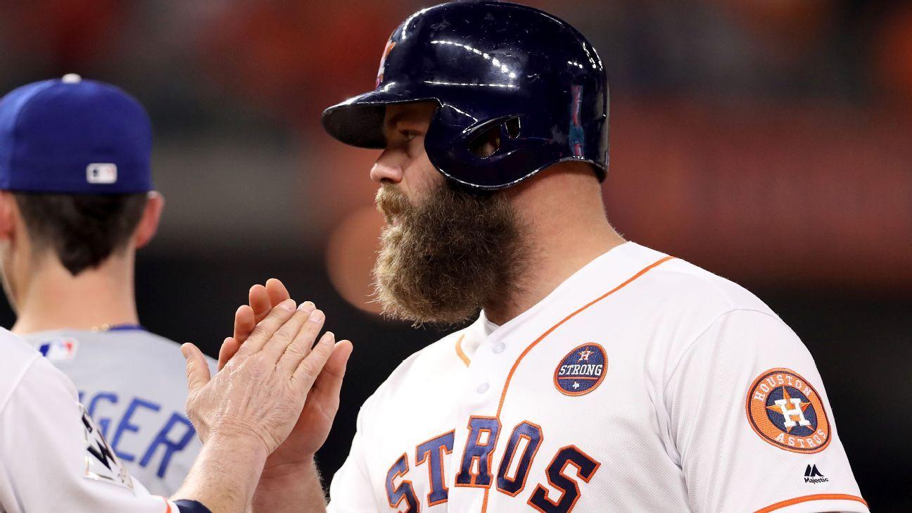 Rumor Central: Houston Astros' Evan Gattis a non-tender candidate? - MLB Rumor Central- ESPN