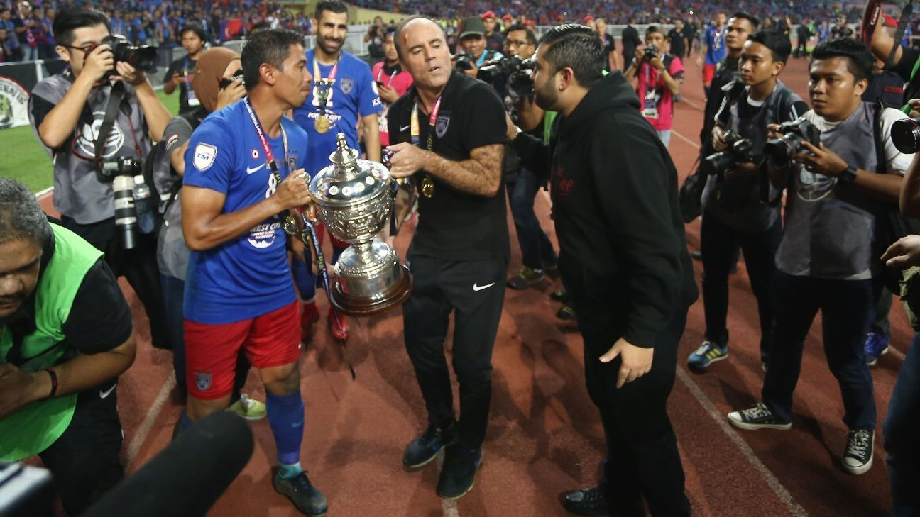 JDT ecstatic as Malaysia awarded ACL spot for 2019 despite
