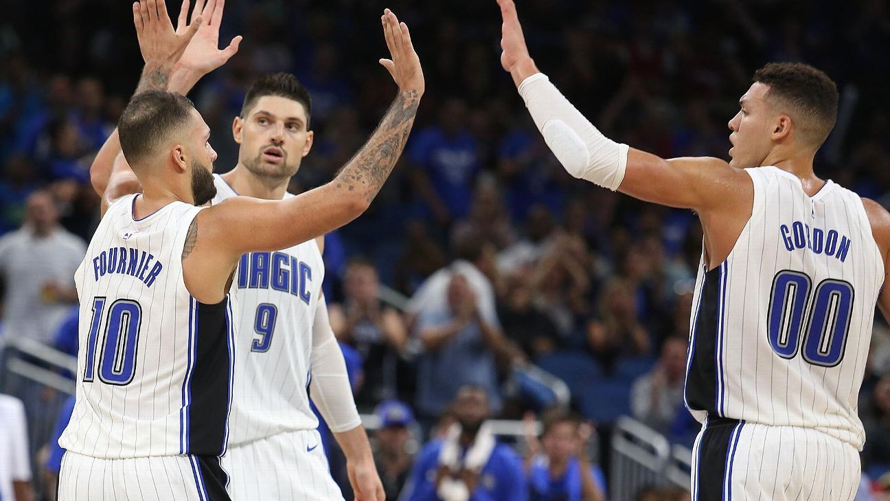 Nikola Vucevic has ankle sprain, Aaron Gordon diagnosed with ankle bruise