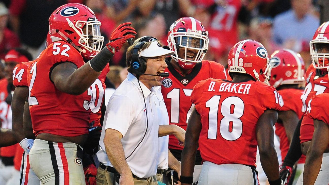 Timing was right for Georgia Bulldogs coach Kirby Smart