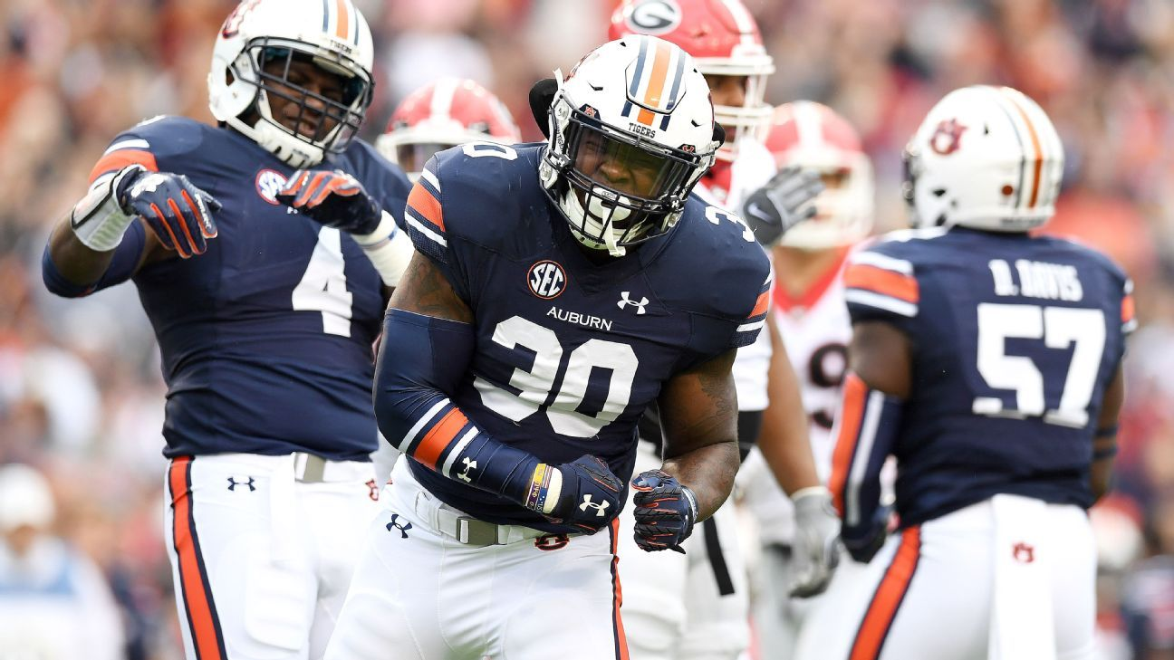 Auburn flips the script on No. 1 Georgia, sets up pivotal ...